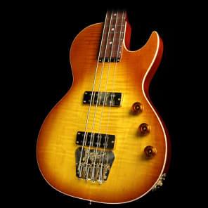 B&G Guitars Big Sister Electric Bass Guitar Honey Burst for sale