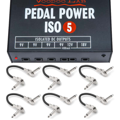 New Voodoo Lab ISO 5 Guitar Pedal Power Supply! image