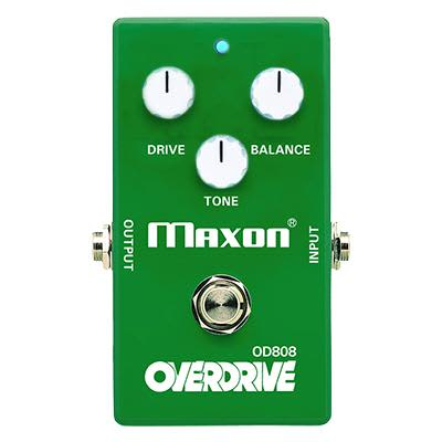 Maxon OD808 Limited Edition 40th Anniversary Keeley Modded Overdrive pedal for sale