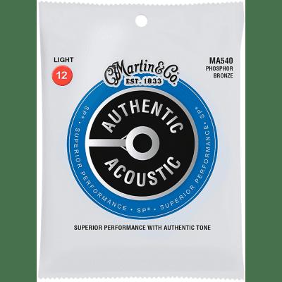 Martin MA540 Phosphor Bronze Acoustic Guitar Strings - Light (12-54)
