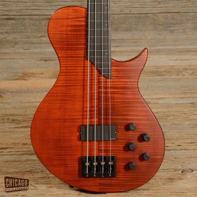 Bolin NS Fretless Bass red/amber for sale