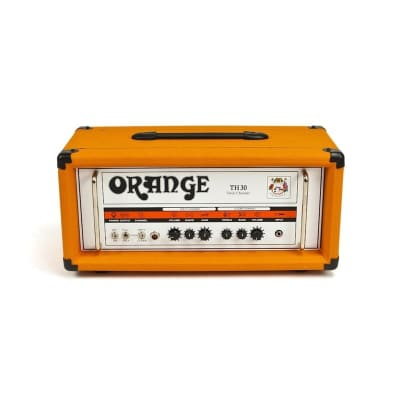 Orange TH30 Thunder 30 Head Orange + Footswitch + Cover + Cable Bundle for sale