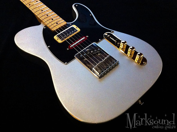 Marksound Guitars Session T 2008 Inca Silver Brent Reverb
