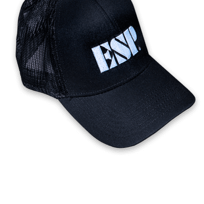 ESP Trucker Hat Black