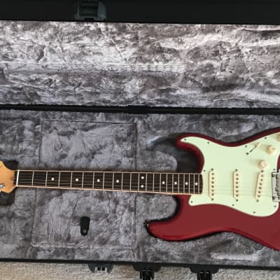 Fender Limited Edition Channel Bound FSR Stratocaster  2014 Dakota Red for sale
