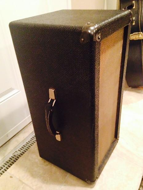 Vintage Gibson Guitar Speaker Cabinet 2x10 Weber