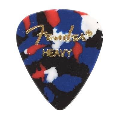 Fender 351 Shape Premium Picks Heavy Confetti
