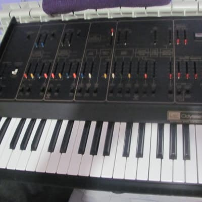 ARP Odyssey II 2813 Original Vintage Synthesizer Black & Gold
