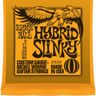 Ernie Ball Hybrid Slinky .009 - .046