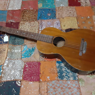 Vintage / Antique 1930's Peter Benson Parlor Guitar , Hand made in USA for sale