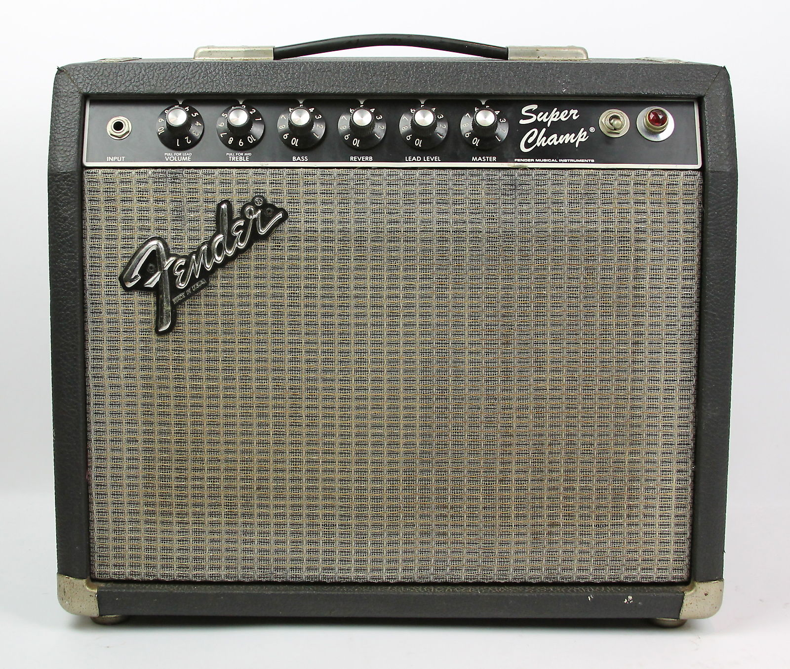 fender super champ 1x10 18w 39 80s guitar combo amp reverb