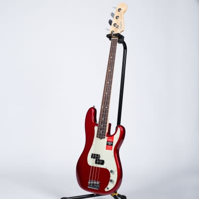 Fender American Professional Precision Bass - Rosewood, Candy Apple Red for sale