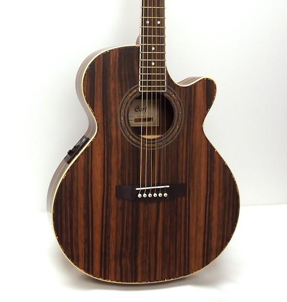 cort sfx je java ebony acoustic electric guitar reverb. Black Bedroom Furniture Sets. Home Design Ideas