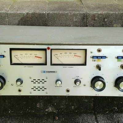 Harris Gates Stereo-5 Broadcast Studio Radio Mixer Analog Console Mega Rare