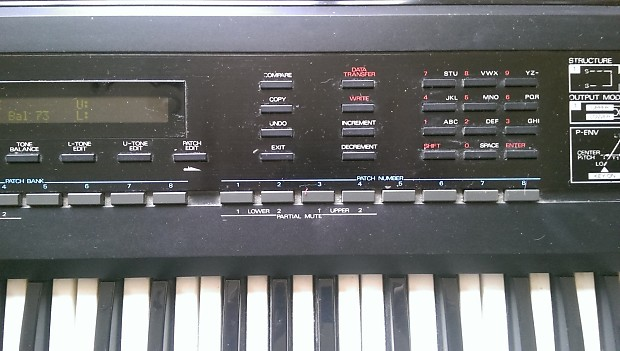 Roland D-50 61-Key Linear Synthesizer