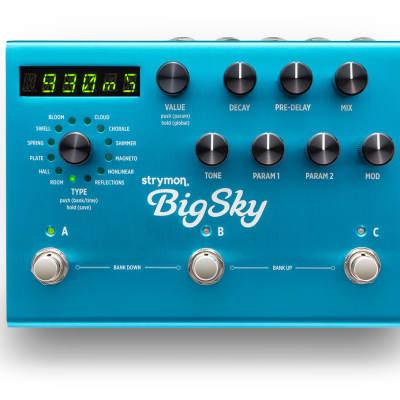 Strymon Big Sky Reverb *Free US Shipping*