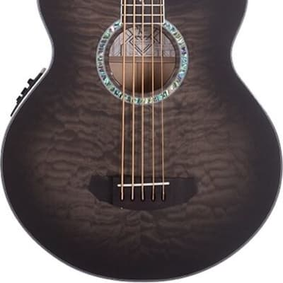 Michael Kelly Dragonfly 5  Smoke Burst Acoustic /Electric Bass - 348038 - 809164022077 for sale