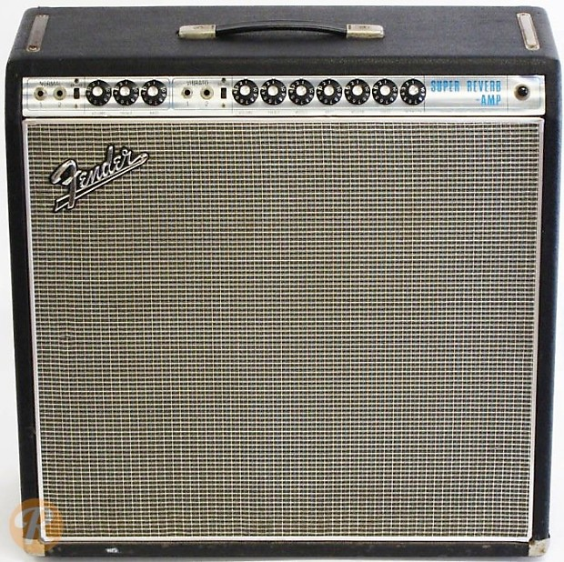 Fender Super Reverb 1968 Silverface