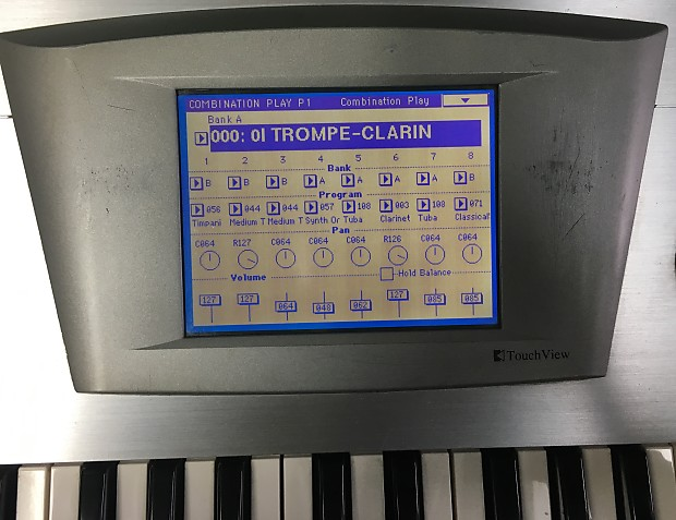 Korg Trinity Keyboard Synthesizer - Touch Screen does not work, couple of  keys ar