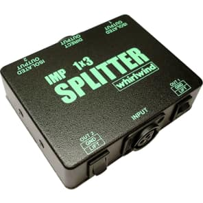 Whirlwind SP1X3 Imp 1X3 Single Microphone Splitter