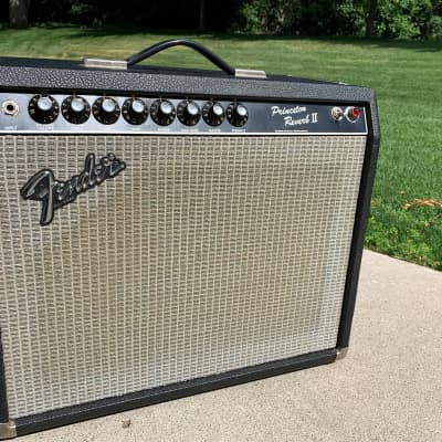 Fender Princeton Reverb II 1982-1986 Black Tolex for sale