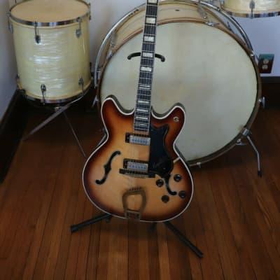 Hagstrom Viking V2 Deluxe Electric Guitar Vintage 1968