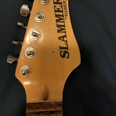 Hamer Slammer Rosewood fretboard maple neck