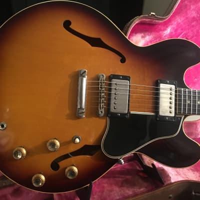 Gibson ES 335 1961 Sunburst