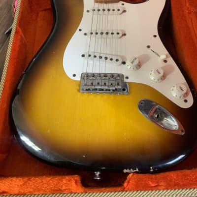 Fender Custom Shop '56 Reissue Stratocaster Relic 2002 Tobacco Sunburst for sale