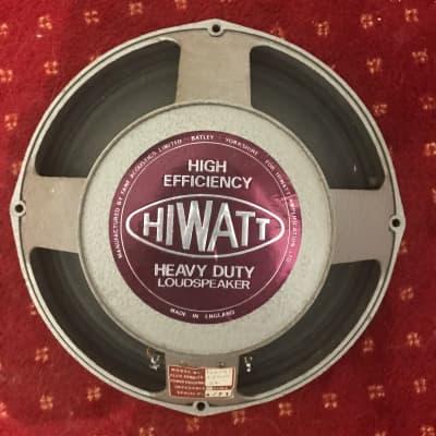 Hiwatt Fane vintage speaker 122141 1972