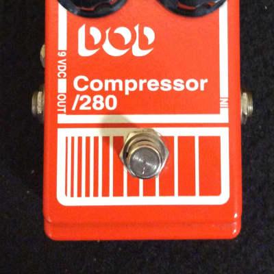 Vintage DOD Compressor 280 Pedal for sale