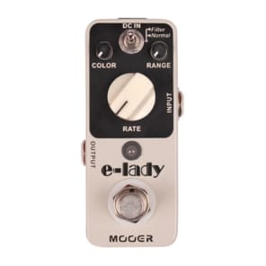 Mooer E-Lady Analog Flanger/Filter MICRO Guitar Effect Pedal True Bypass NEW