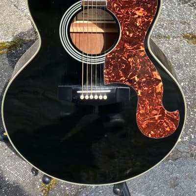 1991 Epiphone SQ-180 Limited Edition Everly Brothers Don Jumbo Acoustic Black for sale