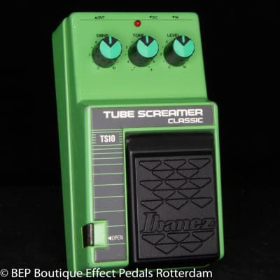 Ibanez TS-10 Tube Screamer Classic 1989 s/n 358060 Japan, JRC4558D as used by John Mayer and SRV