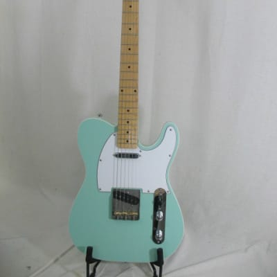 Logan Double bound telecaster 2020 Surf Green for sale
