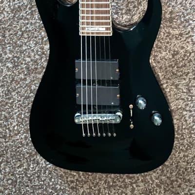 ESP LTD Stephen carpenter Sc-607B seven string baritone electric guitar ohsc 2010 Black for sale