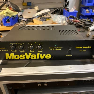 Tube Works Mosvalve MV-962 1980s black