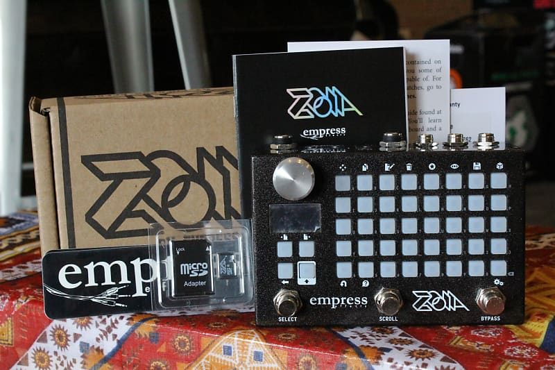 empress effects zoia modular synthesizer and guitar reverb. Black Bedroom Furniture Sets. Home Design Ideas