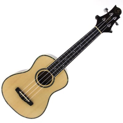 Samick UK-70 Ukulele Uke Natural Concert Body Acoustic Guitar for sale