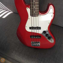 Fender Standard Jazz Bass 1989 Candy Apple Red image