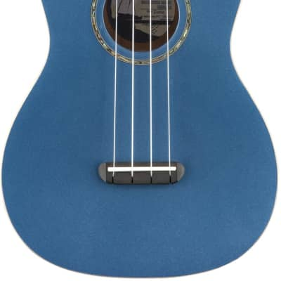 Zuma Classic Concert Uke Walnut Fingerboard Lake Placid Blue