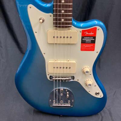 Fender 2020 Limited Edition American Professional Jazzmaster, Rosewood Neck - Sky Burst Metallic