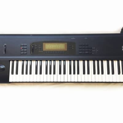 KORG 01/W FD Synthesizer Workstation. Made in Japan. Works and Sounds Great !