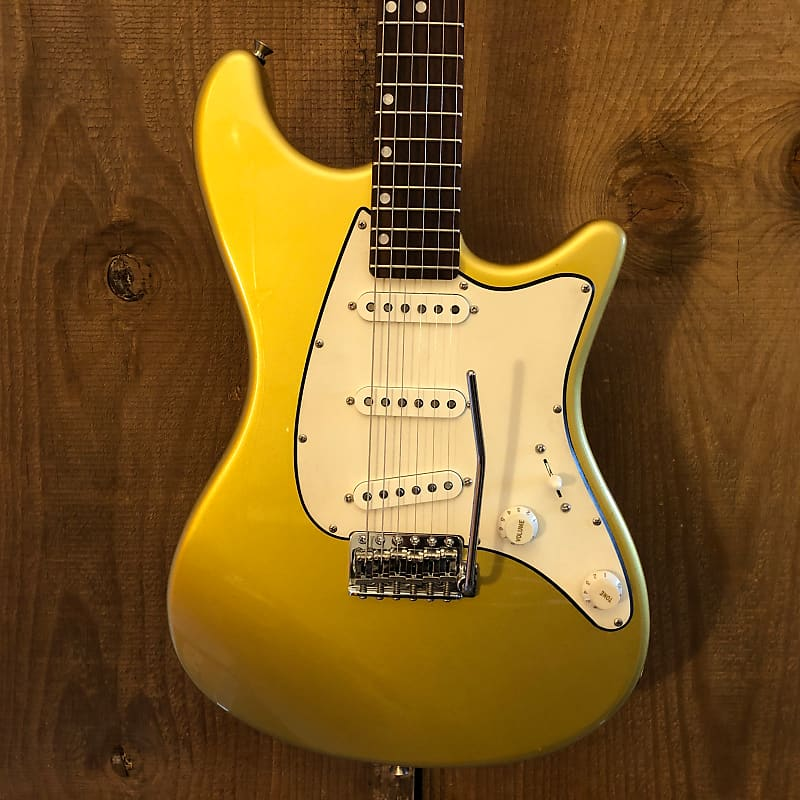 John Page Classic Ashburn Shoreline Gold Rosewood Fretboard w/ Upgraded Pickups