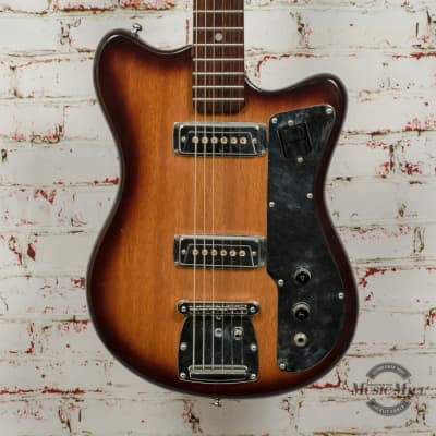 Vintage Palmer / Tempo MIJ Double Cut Electric Guitar Burst x7605 (USED) for sale