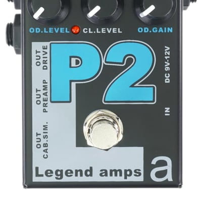 AMT Electronics P2 Guitar Preamp