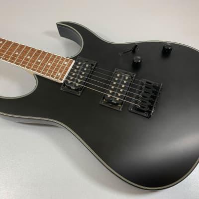 Ibanez RG Standard RG421 EX BKS Black Flat for sale