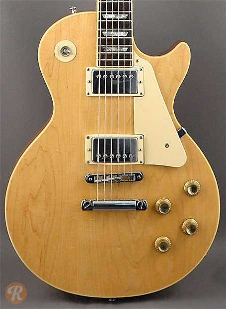 gibson les paul standard 1977 natural price guide reverb. Black Bedroom Furniture Sets. Home Design Ideas