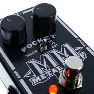 Electro-Harmonix Pocket Metal Muff. Never Used or Plugged In. With All Original Packaging!