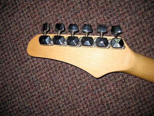 hammer slammer electric guitar 1990 2010 black reverb. Black Bedroom Furniture Sets. Home Design Ideas